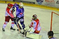 Hokejisté Kolína jsou první, kdo vyhrál v letošní sezoně na ledě Žďáru nad Sázavou.