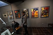 Výstava významných umělců kolínského regionu vzbudila velký zájem.
