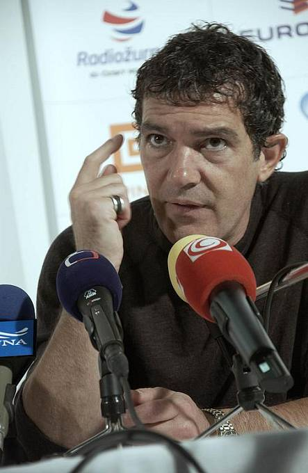 Tisková konference Antonio Banderase