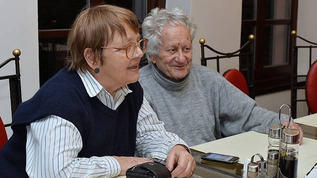 Soňa Antošová s manželem Antonínem