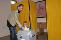Parlamentní volby v Červených Pečkách, sobota 26. října 2013
