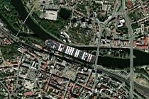 Kontejnerová loď Ever Given v Kolíně.