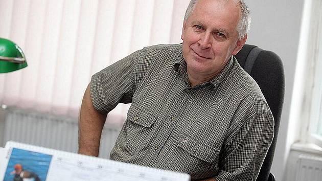 Ivo Pařík, předseda Okresního fotbalového svazu v Kolíně.
