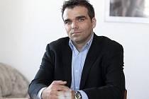 Marek Jirouš, zástupce vedoucího územního odboru Policie ČR Kolín.