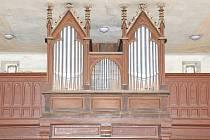 Zrenovované varhany v Olešce