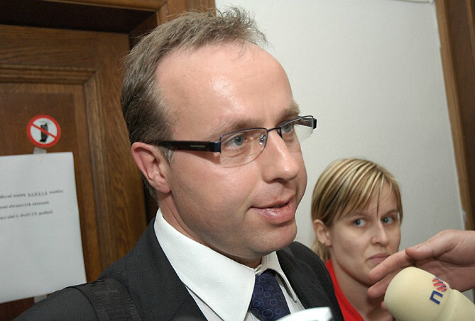 Poslanec Ondřej Plašil u krajského soudu
