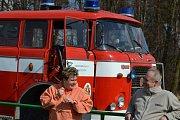 Ovčárenští hasiči si alespoň zatrénovali