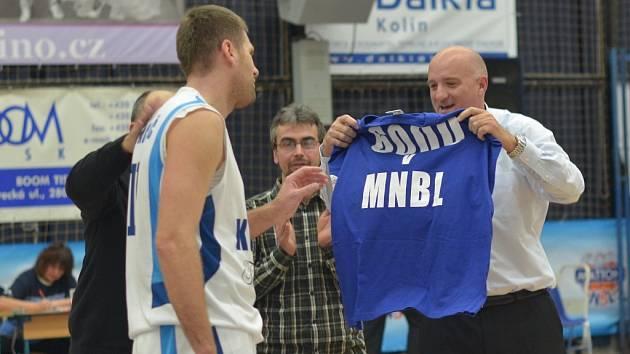 Z utkání BC Farfallino Kolín - Jindřichův Hradec (94:58).