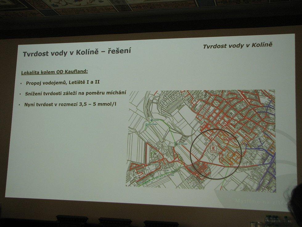Společnost Energie AG řeší tvrdost vody v Kolíně.