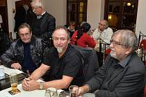 Miloš Kim Houdek (vpravo) na setkání při příležitosti 25 let od sametové revoluce.