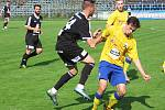 Z utkání ČFL Benešov - FK Kolín (4:1).