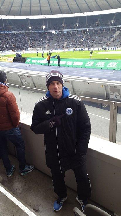 Jan Pikner se zúčastnil stáže v týmu Hertha Berlín.
