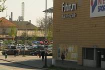 Obchodní centrum Futurum v Kolíně.