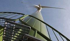 Podobná větrná elektrárna by mohla vyrůst kousek za Velký Osekem