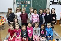 Základní škola v Plaňanech - třída 1.A ve školním roce 2019/2020.