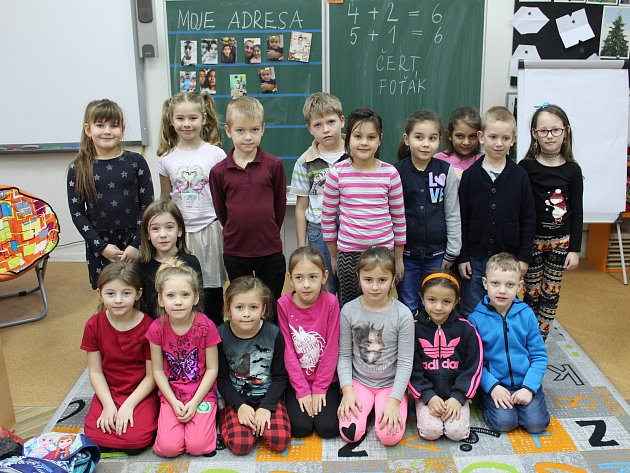 Základní škola vPlaňanech - třída 1.Ave školním roce 2019/2020.