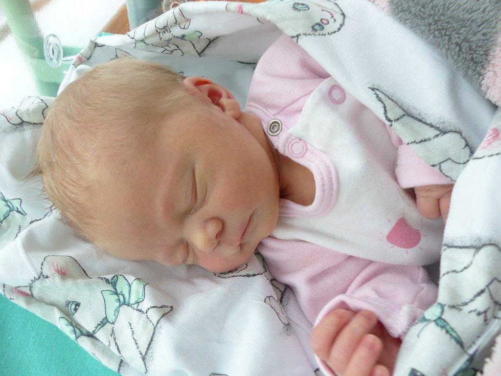 Kateřina Růžičková se narodila 1. března 2019, vážila 3315 g a měřila 50 cm. V Kolíně bude vyrůstat se sestřičkou Vendulkou (3) a rodiči Terezou a Honzou.