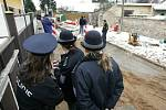 Dělník se zranil při výkopu kanalizace v Ratenicích