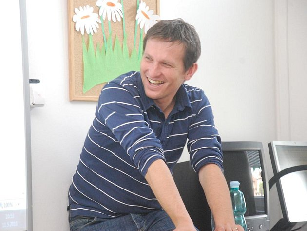 Vladimír Kořen besedoval s českobrodskými žáky