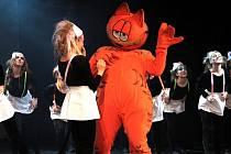 Premiéra představení Garfield v Kolíně