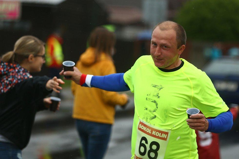 63. ročník běhu Kolín-Velký Osek-Kolín.