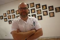 Aleš Toman, primář gynekologicko-porodnického oddělení Oblastní nemocnice v Kolíně.