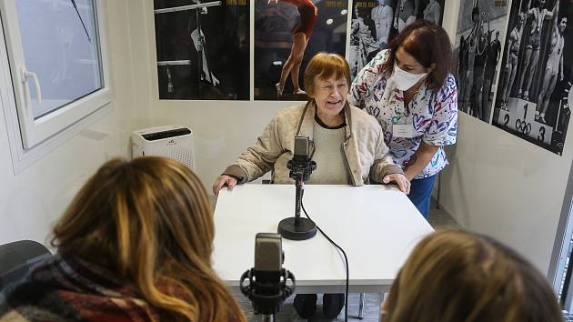 Setkávač v domově pro seniory v Mlékovicích