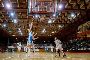 RENOMIA ŽBL basketbalistek - 8. kolo: DSK Levhartice Chomutov - BK Loko Trutnov 70:60.