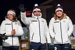 Slavnostní přivítání olympioniků ve Vrchlabí