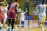 Basketbalistky Trutnova porazily Slavii Praha v obou vzájemných zápasech sezony.