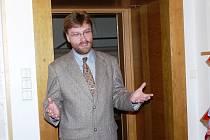 Velkou zásluhu na zrodu informačního centra má rovněž ředitel Svazku Krkonoše Michal Vávra.