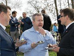 Dům přírody otevřel ministr Richard Brabec