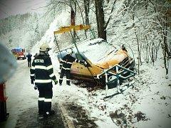 Jednotky dobrovolných hasičů mají za sebou náročnou středu