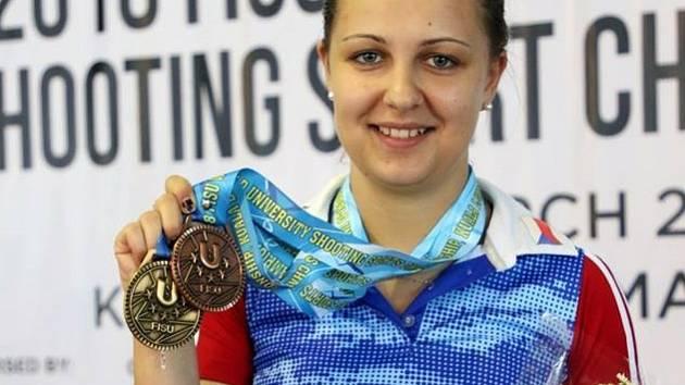 Sportovní střelkyně Gabriela Vognarová.