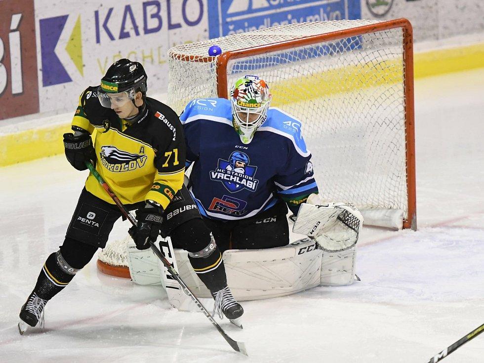 Na konci ledna si vrchlabští hokejisté se Sokolovem poradili výsledkem 5:2.