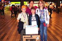 Premiérový Eurorebus Junior patří Základní škole Lány