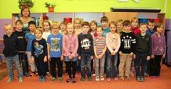 Žáci 1. třídy ZŠ a MŠ Bílá Třemešná