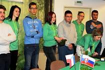 Studenti trutnovské lesárny přivítali v tomto týdnu mezi sebou výpravu z francouzské lesnické školy ve Vic-en-Bigorre.