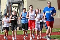 První trénink basketbalistek Kary Trutnov.