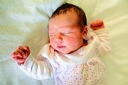 KLAUDIE se narodila 17. října ve 8.46 hodin rodičům Ivetě a Tomášovi. Vážila 3,31 kg a měřila 48 cm. Spolu s brášky Patrikem a Tomáškem bydlí ve Vitíněvsi.