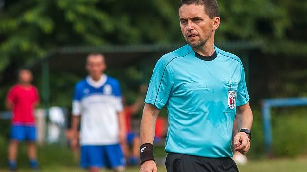 Rozhodcovská role: Marek Pilný to jako sudí dotáhl do nejvyšší soutěže, nyní působí ve třetí lize.