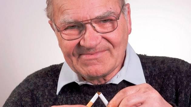 Pepa si zvyká na život bez cigaret