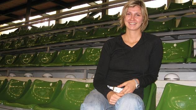 Basketbalistka Irena Borecká.