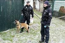 Policejní kontrola chat a chalup.