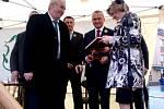 Miloš Zeman v Jilemnici