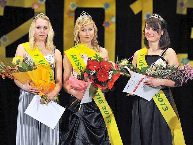 TITUL MISS sympatie a korunku Miss SZŠ získala Michala Hejzlarová, první vicemiss se stala Tereza Mrštíková a druhou vicemiss Pavlína Házová.