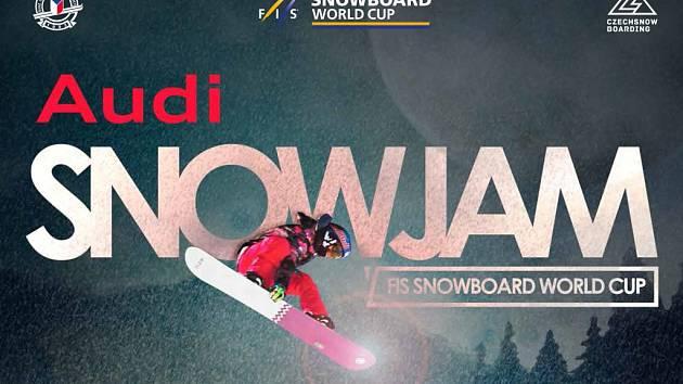 AUDI SNOWJAM. Finále FIS Světového poháru přivítá ve Špindlerově Mlýně světovou špičku freestyle snowboardingu.