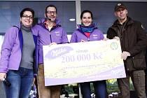 ŠEK v hodnotě 200 tisíc korun získaly Krkonoše od dárců ze společnosti Kraft Foods na jemnou pomoc horám.