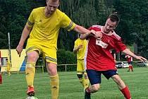 Jedním ze šlágrů třetího kola bylo královédvorské derby mezi FK Mostek a Jiskrou Kocbeře.
