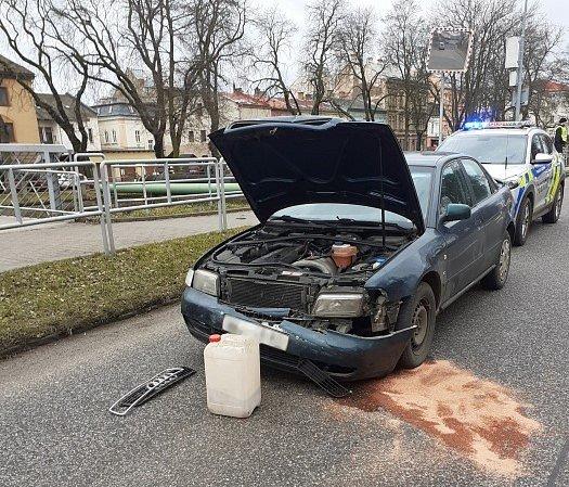 Nehoda vTrutnově